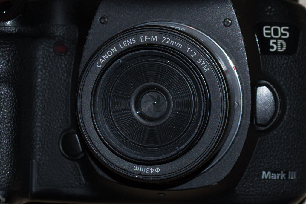 Yes, you CAN use an EF-M lens on an EF body (well, sort of)